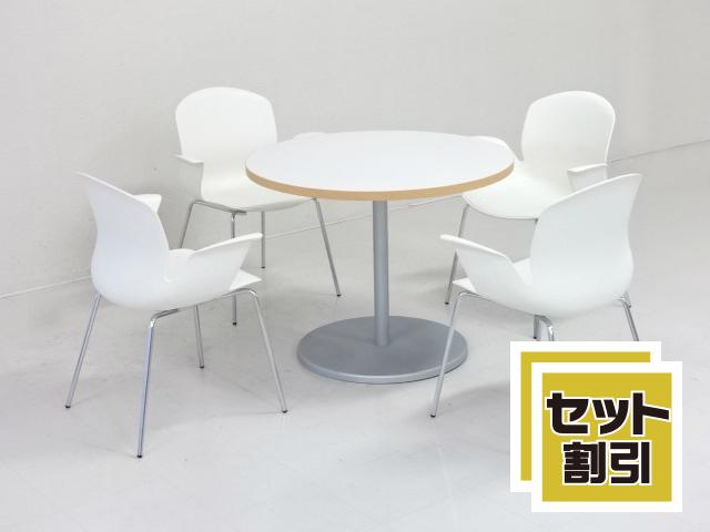 29199 木製家具・応接セット・応接・会議セット 商品説明へ:中古オフィス家具・楽市
