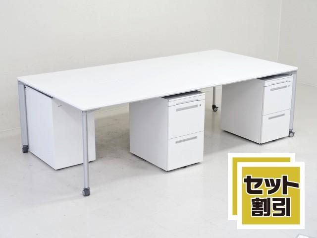 29729 デスク・平デスク・フリーアドレス 商品説明へ:中古オフィス家具・楽市