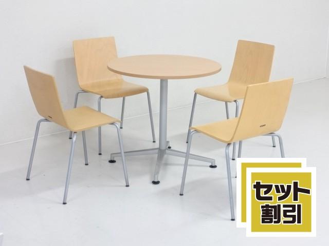 30150 木製家具・応接セット・応接・会議セット 商品説明へ:中古オフィス家具・楽市