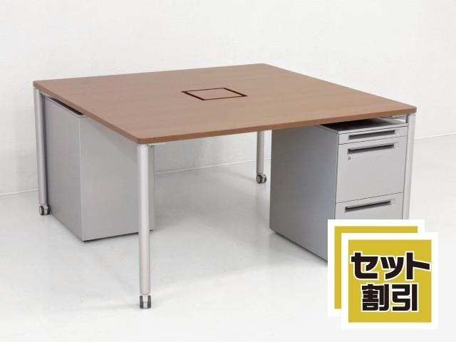 30521 デスク・平デスク・フリーアドレス 商品説明へ:中古オフィス家具・楽市