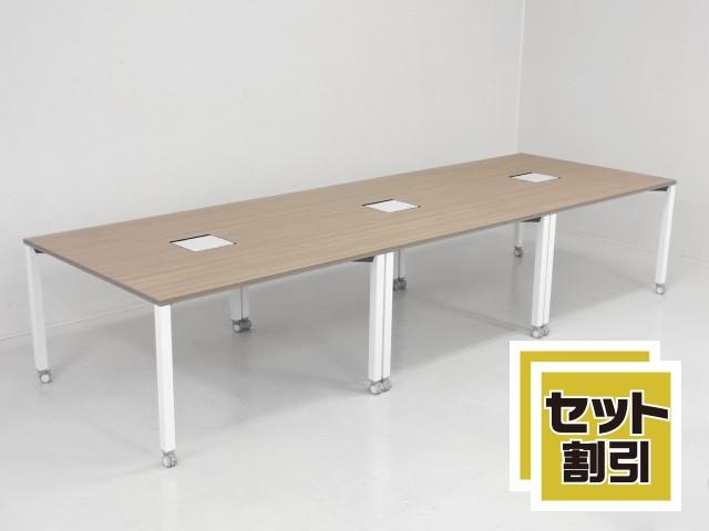 30628 デスク・平デスク・フリーアドレス 商品説明へ:中古オフィス家具・楽市