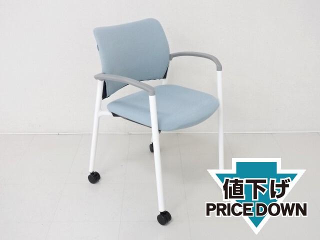 30974 チェアー・ミーティングチェアー 商品説明へ:中古オフィス家具・楽市