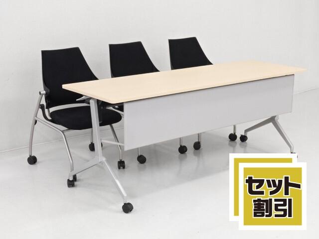 31578 テーブル・折たたみテーブル 商品説明へ:中古オフィス家具・楽市