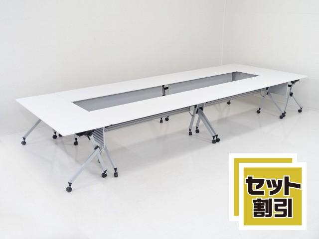 31579 テーブル・折たたみテーブル 商品説明へ:中古オフィス家具・楽市
