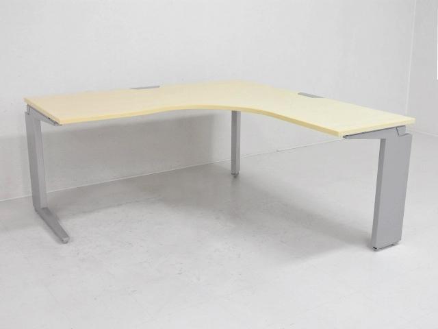 25301 デスク・L型・ラウンドデスク 商品説明へ:中古オフィス家具・楽市