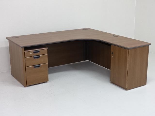 26953 デスク・木製デスク 商品説明へ:中古オフィス家具・楽市