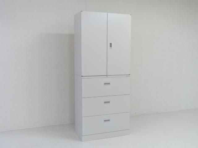 4980 キャビネット・ユニット書庫 商品説明へ:中古オフィス家具・楽市