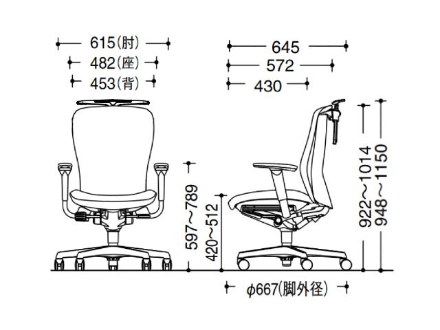 オカムラOC-30565画像13